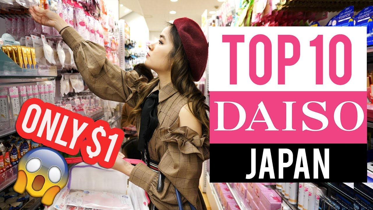 TOP 10 YOU MUST BUY AT DAISO JAPAN!! 🇯🇵 I love Daiso