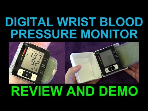 Digital Wrist Blood Pressure Monitor by LTN Simple & Automatic Inexpensive & Portable