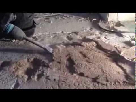 Super VloerSterk   Zo niet: Verwijderen parket en spaanplaat ondervloer HV84