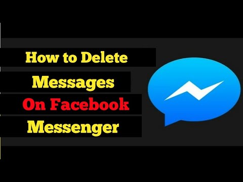 How to Delete Facebook Messages (Yes, You Can Delete Both