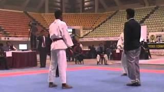 mukundra playing Karate in Bangaladesh