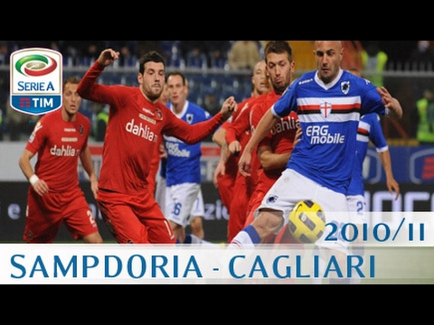 Sampdoria Cagliari Serie A 201011 Eng Youtube