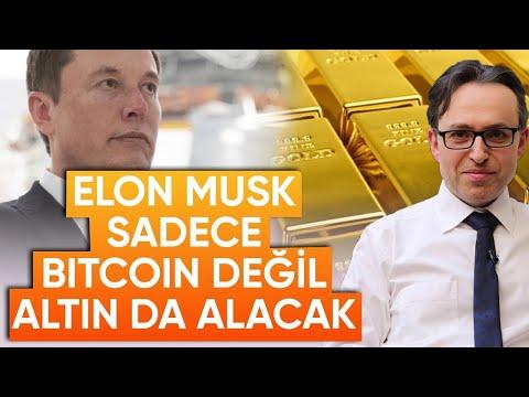 Elon Musk Sadece BTC Değil Altın da Alacak - Ekonomi Haberleri - Dünyanın Haberi 190 - 10.02.2021