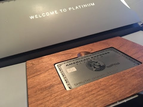 New American Express Platinum Unboxing - Metal Card