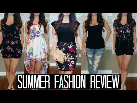 2015 Pinterest Inspired Summer Spring Clothing Haul, Styled Try On, & Review ❤ Fashion Dupes