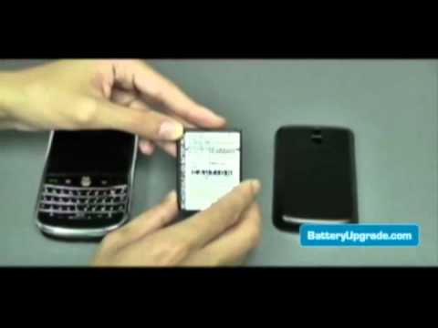 Blackberry Bold 9000 - Extended Battery - Replacement instructions by BatteryUpgrade.com