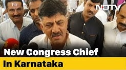 "DK Shivakumar Is Karnataka Congress Chief, ""Congrats"", Says Siddaramaiah"