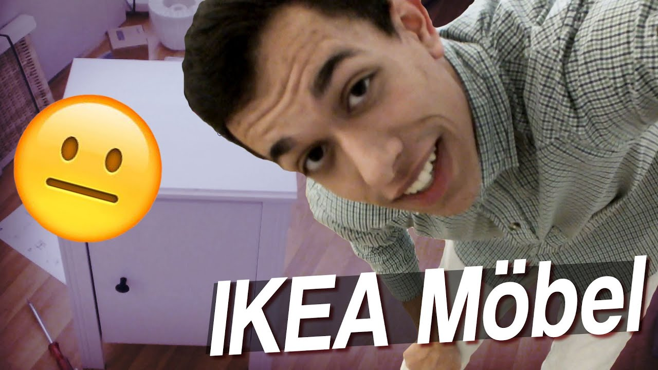 ikea m bel aufbauen mit christian vlog 12 youtube. Black Bedroom Furniture Sets. Home Design Ideas