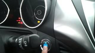 Hyundai Avante 1.6 GDI. Холодный запуск при 30 смотреть