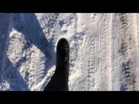 Хруст под ногами  снег зима в Волгограде