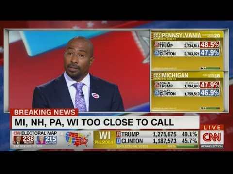 Van Jones' CNN Speech Is the Only Thing Worth Watching Right Now