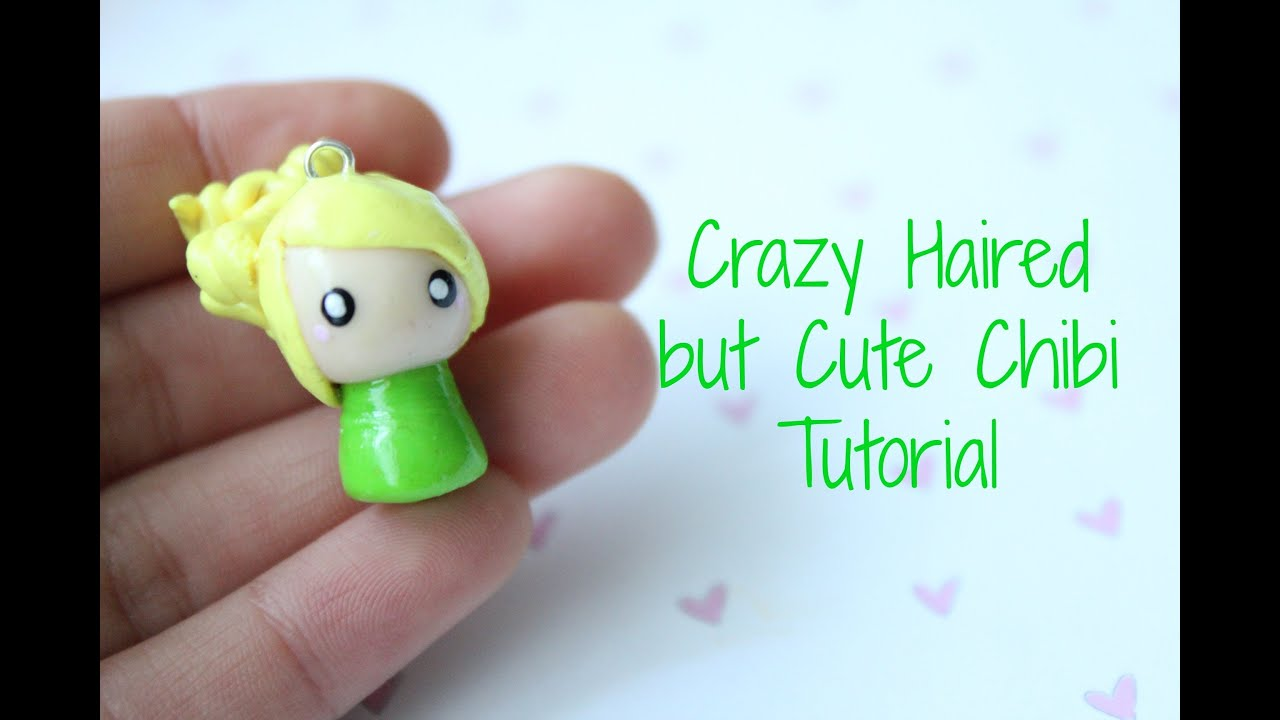 Crazy haired but cute chibi tutorial youtube baditri Images