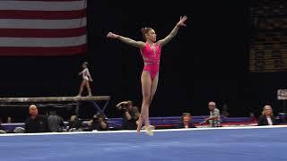 Alexis Jeffrey – Floor Exercise – 2018 U.S. Gymnastics Championships – Junior Women Day 1