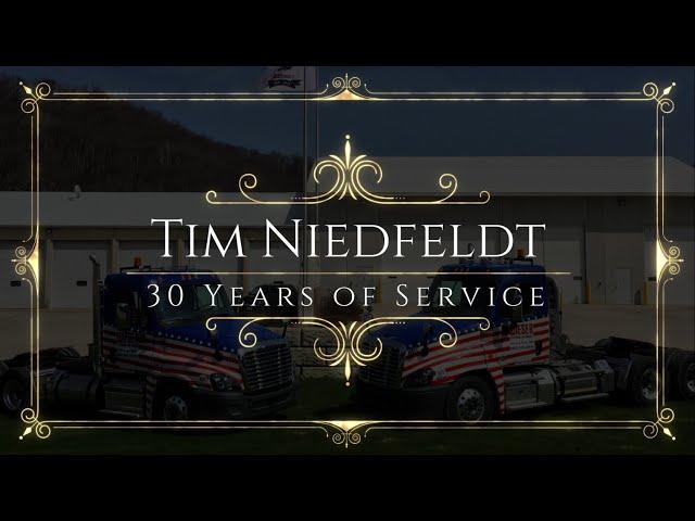 Tim Niedfeldt 30-Year Anniversary with Wieser Concrete
