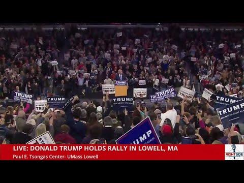 FULL Speech HD: Donald Trump Speaks to 10,000 Plus in Lowell, MA (1-4-16)