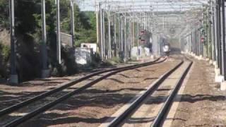 Kingston RI Railfanning 150 MPH Acelas, Horn Shows!