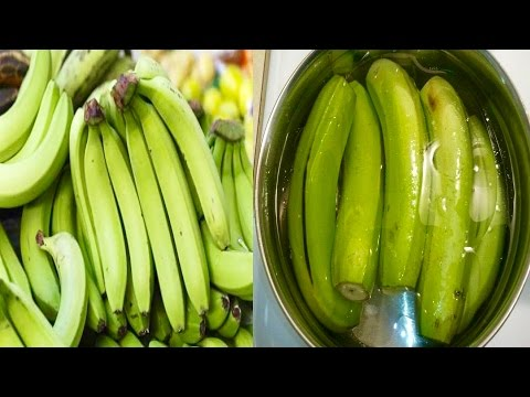 Eat 2 Green Bananas Everyday For A Week And This Will Happen To Your Body