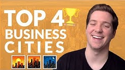 Top 4 U.S. Cities For Growing a Business (Personal Experience)