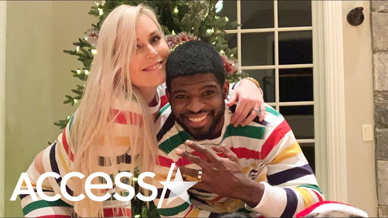 Lindsey Vonn Proposes to P.K. Subban on Christmas Day