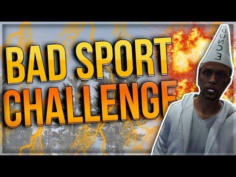 BAD SPORT CHALLENGE (GTA V DANSK ONLINE) W/ TrigoDK & TrigoArmy
