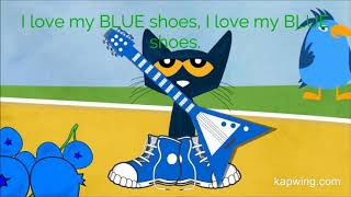Pete the cat   I love my white shoes - with subtitles