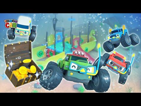Treasure Hunt Play With Tomoncar! Learn Numbers And Nursery Rhyme Kids Songs Tomoncar World