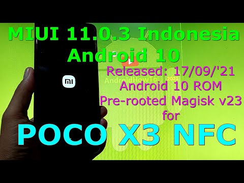 MIUI 11.0.3 Indonesia for Poco X3 NFC (Surya) Android 10