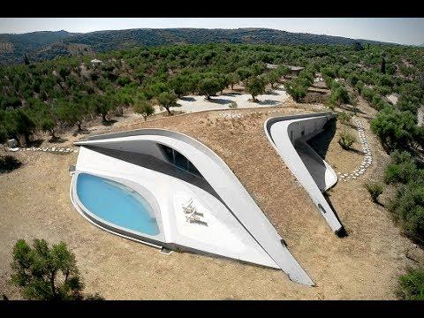 Ultramodern Villa Ypsilon House by LASSA Architects, Finikounda, Greece
