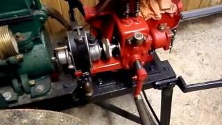 Démarrage moteur fixe ancien Vermorel