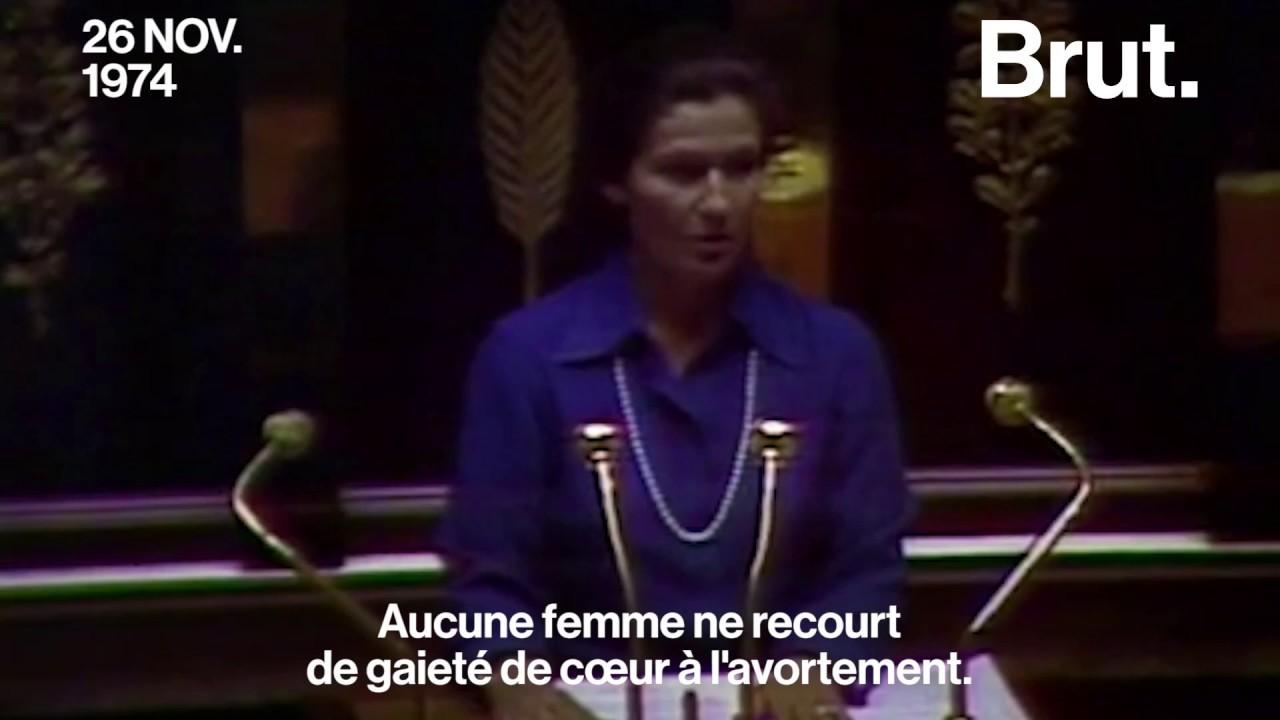 Simone Veil est morte à 89 ans  son discours pour l\u0027avortement