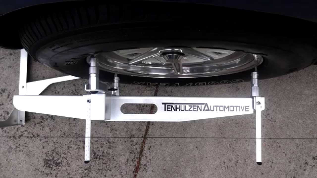 4 Wheel Alignment System Diy Wheel Alignment From