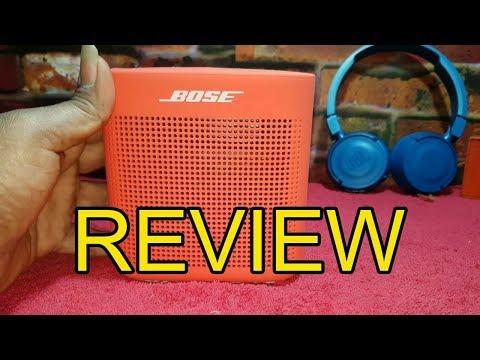 Bose SoundLink Color Bluetooth Speaker II Review 2019
