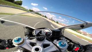 Catalunya with LD Moto Triumph Daytona 675 R 30/06/14 Session 5