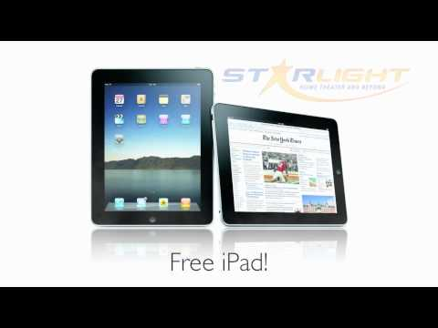 Free iPAD promotion with home automation projects, visit store for details