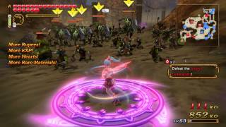 Hyrule Warriors: Lana Summoning Gate Level 3 Mission (A Rank)