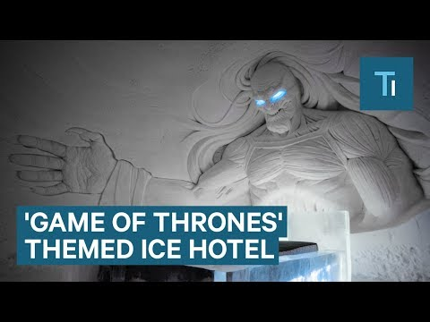 Aimee - Winter Has Come to the Game of Thrones Ice Hotel