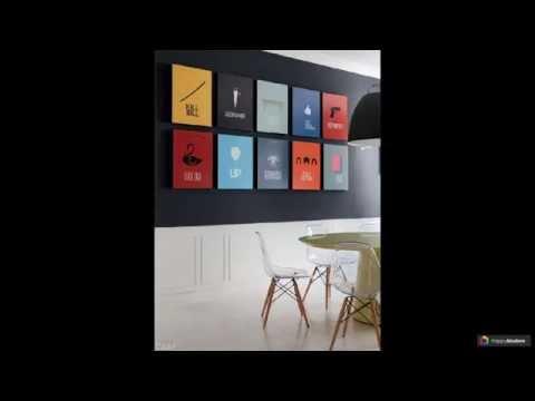 Постеры для интерьера: 65 видов оформления