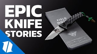 Epic Knife Stories from the Blade HQ Community   Live