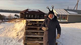 Уралочка решила построить в глухой деревне современный клуб из контейнеров
