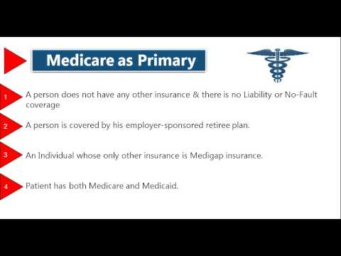 Medical Billing:- Medicare as Primary Insurance