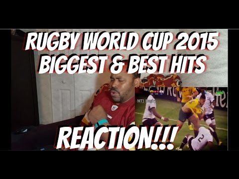 Rugby World Cup 2015 Biggest & Best Hits REACTION!!!