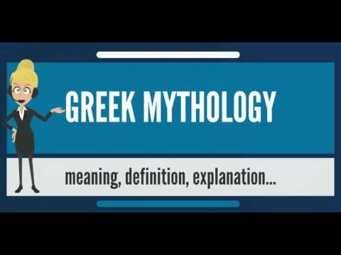 What is GREEK MYTHOLOGY? What does GREEK MYTHOLOGY mean? GREEK MYTHOLOGY meaning & explanation