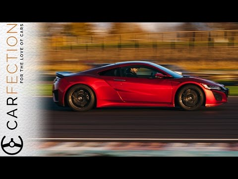 Honda NSX vs Audi R8 V10 Plus: Sci-Fi vs Old School - Carfection