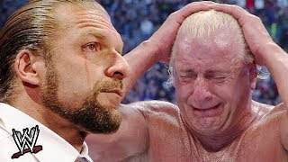 10 Memorable Retirement Matches From WWE Superstars thumbnail