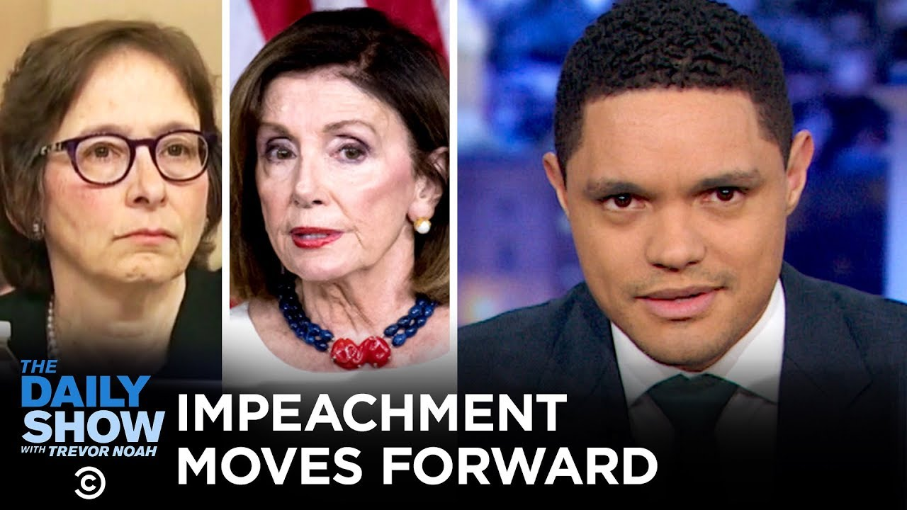 Pelosi Presses On & Constitutional Scholars Testify | The Daily Show