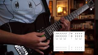 Killswitch Engage - My Curse Lesson w/ On Screen Tabs