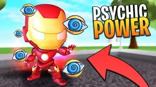 *NEW* HOW TO GET MORE PSYCHIC POWER (UPDATE) IN SUPER POWER TRAINING SIMULATOR (Roblox)