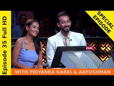 Priyanka Karki & Aayushman in Ko Banchha Crorepati    SEASON 01    EPISODE 35