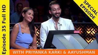 Priyanka Karki & Aayushman in Ko Banchha Crorepati || SEASON 01 || EPISODE 35