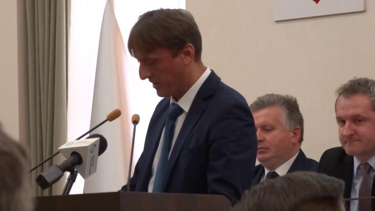 Radny Dawid Kędziora o budżecie Kielc na 2018 rok 21.12.2017